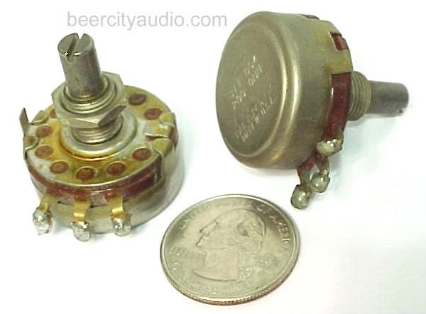 200 OHM AB ALLEN BRADLEY QTY-1 TUBE PRE AMP LINEAR TAPER POTS