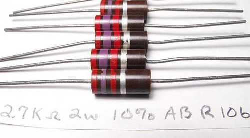 2.7K OHM 2 WATT ALLEN BRADLEY AB TUBE AMP CARBON RESISTORS