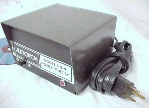 AUDIOVOX 12 VOLT 4 AMP DC AUTO BENCH TEST METER AMPLIFIER POWER SUPPLY