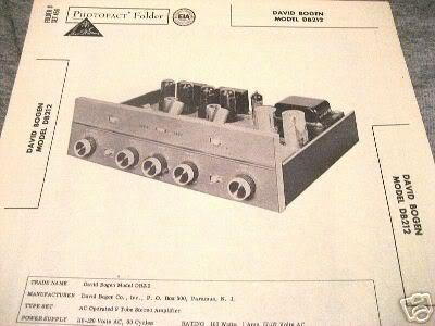 bogen tube amp preamp test mixer db212 12ax7 manual. Black Bedroom Furniture Sets. Home Design Ideas