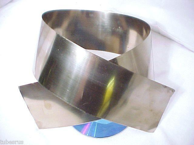 MU METAL MAGNETIC STATIC GUITAR MIC PHONO LP MRI SHIELD
