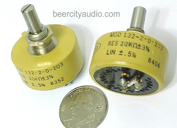 SPECTROL TUBE AMP QTY-1 PREAMPLIFIER 20K OHM LINEAR TAPER POT