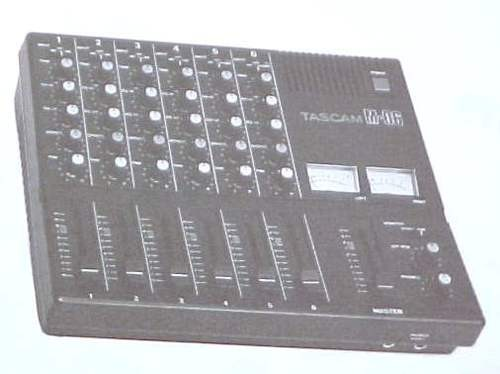 TASCAM M-06 SERVICE REPAIR SCHEMATIC AUDIO MIXER MANUAL