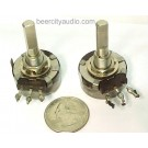 1K OHM CLAROSTAT ALLEN B TUBE AMP VOLUME TAPER LOG POTS