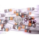3.3 MEG OHM 2 WATT TUBE FILAMENT CARBON MIXER RESISTORS