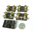 15 A 600 V POWER LINE QTY-1 TUBE AMP BAKELITE 3AG FUSE HOLDER