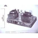 EICO HF-30 6BQ5 12AX7 TUBE AMP MIXER AMPLIFIER SCHEMATIC MANUAL