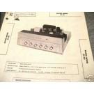 BOGEN TUBE AMP PREAMP MIXER 12AX7 SST AP-40 MANUAL