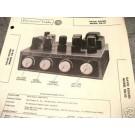 BOGEN TUBE AMP PREAMP MIXER 12AX7 DB10 SCHEMATIC MANUAL