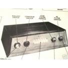 BOGEN PR100 6 CH TONE TUBE AMP PREAMP SCHEMATIC MANUAL