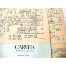 CARVER PM 1.5 MAGNETIC FIELD AMPLIFIER MIX BOB SCHEMATIC MANUAL