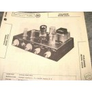 CHALLENGER TUBE AMP PREAMP 12AX7 CHA10 SCHEMATIC MANUAL