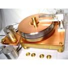 Tritium moving coil LP record air bearing tonearm turntable