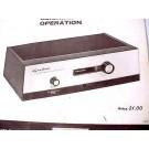 DYNATUNER FM-1 12AX7 TUBE AMPLIFIER TUNER AMP SCHEMATIC MANUAL