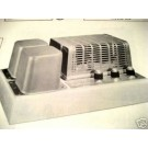 ELECTRO-VOICE A15 TUBE AMP PREAMP SCHEMATIC MANUAL