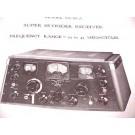 HALLICRAFTERS SUPER SKYRIDER SX-28 TUBE RADIO RF MANUAL