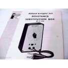 KNIGHT-KIT RESISTANCE SUB SUBSTITUTION BOX MANUAL