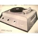 KNIGHT 93SZ505 93SZ737 TUBE AMP PHONO SCHEMATIC MANUAL