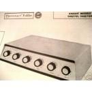 KNIGHT 94SX700 94SX708 TUBE AMP PREAMP SCHEMATIC MANUAL