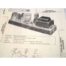 MAGNAVOX TUBE AMP PREAMP MIXER 163AA SCHEMATIC MANUAL