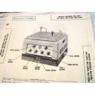 MASCO 4CH TUBE AMP PREAMP PHONO MC-25 SCHEMATIC MANUAL