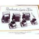 RAULAND LYRIC TRIO AUDIO AMPLIFIER RADIO AMP CATALOG