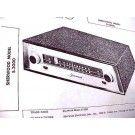 SHERWOOD S-2000 FM TUNER 12AX7 TUBE AMP SCHEMATIC