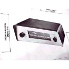 HARMAN KARDON MODEL T-10 FM AM TUNER SCHEMATIC