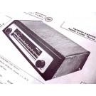 HARMAN KARDON T-1040 FM TUBE AMPLIFIER TUNER SCHEMATIC